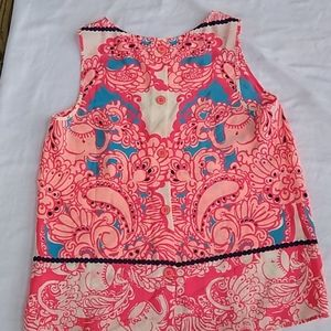 Lilly Pulitzer Silk Blouse NWOT